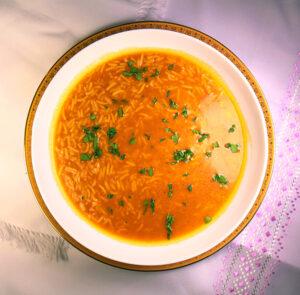 A delicious quick soup