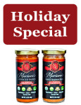 Mariam's Miracle Sauce plus Mariam's Miracle Seasoning Blend